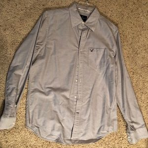 American Eagle casual button down t shirt